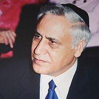 Mosche Katzav Bild: Amir Gilad, modified by Gridge / de.wikipedia.org