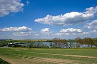Der Obere Großhartmannsdorfer Teich. Bild: de.wikipedia.org