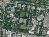 Das Gelände der Bayern-Kaserne im Mai 2012