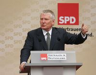 Wahlkampfveranstaltung in München 2005