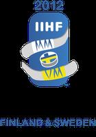 Logo der Eishockey-Weltmeisterschaft der Herren 2012