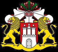 Großes Staatswappen Freie und Hansestadt Hamburg