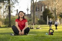 Outdoor Personal Training im Hofgarten in Düsseldorf  Bild: IQ BODY PERSONAL TRAINING Fotograf: Mirzet Ekic