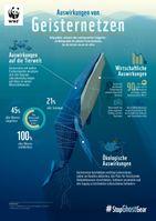 """Auswirkungen von Geisternetzen  Bild: """"obs/WWF World Wide Fund For Nature"""""""
