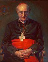 Joachim Kardinal Meisner, Gemälde von Gerd Mosbach, 2010