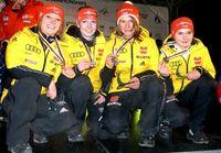 Katharina Althaus, Ramona Straub, Svenja Würth, Pauline Heßler Bild: DSV