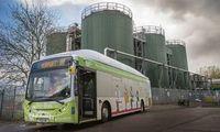 Bio-Bus: Abfälle werden als Treibstoff genutzt Bild: wessexwater.co.uk