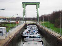 Das deutsche Wasserstraßennetz hat als umweltgerechter und nachhaltiger Mobilitätsträger große Bedeutung, allerdings haben ihre Bauwerke häufig schon einen sanierungsbedürftigen Zustand erreicht Quelle: Simon Weiler (idw)