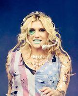 Die Sängerin Kesha bei einem Konzert im Jahr 2011.