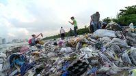 """Wissenschaftler schätzen, dass etwa zwölf Milliarden Tonnen Plastikmüll im Jahr 2050 in den Ozeanen treiben. Bild: """"obs/ZDF"""""""