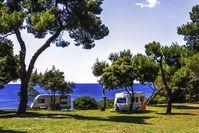 """Viele deutsche Urlauber zieht es auf Campingplätze rund um das Mittelmeer. (Symbolbild). Bild: """"obs/ADAC SE/ADAC / Daniel Biskup"""""""