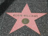 Williams' Stern auf dem Hollywood Walk of Fame