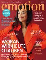 "Bild: ""obs/EMOTION Verlag GmbH/Julia Grossi"""
