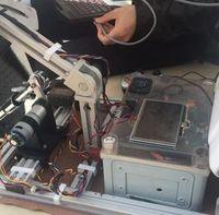 Prototyp: der IVO-Roboter in Aktion. Bild: in.bgu.ac.il/Tia Ghose