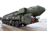 Topol-M ist eine mobile, ballistische Interkontinentalrakete aus russischer Produktion.