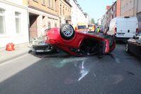 Unfall Odenthaler Str. Bild: Polizei