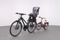 Kindertransportsystem Nachläufer plus Kindersitz