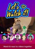 """""""Let's Watch It!"""": Videos anzusehen wird noch lustiger. Bild: Little Labs Inc"""