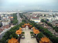 Brücke über den Jangtsekiang in Wuhan