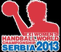 Logo der 21. Handball-Weltmeisterschaft der Frauen