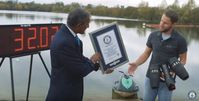 "Bild: Screenshot Youtube Video ""Real life Iron Man sets new record - Guinness World Records Day"""