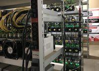 BILD zu OTS - Foto eines Rechenzentrums der Coin Factory