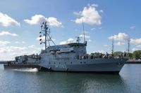 Das Minenjagdboot Bad Bevensen im NATO-Einsatz SNMCMG 2