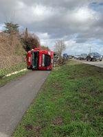 Verkehrsunfall B272 Bild: Polizei