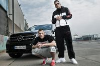 Gzuz (links) und Bonez MC (2016), Archivbild