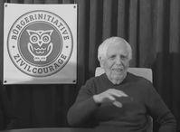 Prof. Ernst Gemacher Bild: Bürgerinitiative Zivilcourage / Eigenes Werk