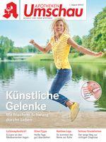 """Titelbild Apotheken Umschau A August 2018. Bild: """"obs/Wort & Bild Verlag - Apotheken Umschau"""""""