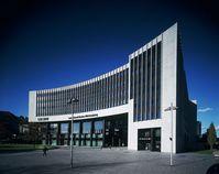 Gebäude der Landesbank Baden-Württemberg (LBBW)  am Hauptsitz Stuttgart, am Hauptbahnhof, Kurt-Georg-Kiesinger-Platz