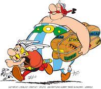 "Teaser Asterix und Obelix Album 39  Bild: ""obs/Egmont Ehapa Media GmbH/© 2021 LES EDITIONS ALBERT RENE"""