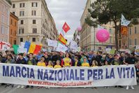 Marcia per la vita, Marsch für das Leben · Bild: Screenshot Facebook / UM / Eigenes Werk