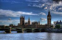 Großbritannien: Das britische Parlament tagt im Palace of Westminster