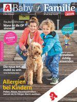 """Titelbild Baby und Familie 3/2019. Bild: """"obs/Wort & Bild Verlag - Gesundheitsmeldungen/Wort&Bild Verlag GmbH & Co. KG"""""""