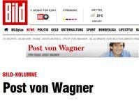 """Screenshot von der Webseite: """"bild.de"""""""