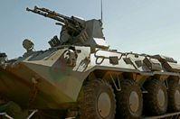 Der BTR-94. Das Fahrzeug ist eine Modifikation des russischen BTR-80