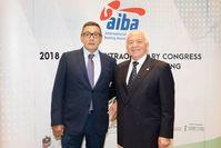 Der neue Interimspräsident der International Boxing Association (AIBA), Gafur Rakhimov, versprach heute, Transparenz und gute Führung zur AIBA zu bringen, um das Vertrauen in die Organisation wiederherzustellen und Respekt für die olympischen Werte zu zeigen.