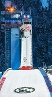 Skisprungschanze, WM Skisprung Arena Oberstdorf. Bild: Brigitte Waltl-Jensen, OK Vierschanzentournee