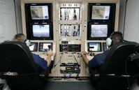 Boden-Kontrollstation für Drohnen-Einsätze