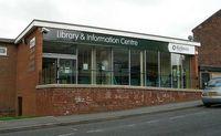 Das Library and Information Centre in Birstall, der Ort des Attentats