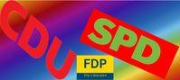 Gelb Rot Schwarz oder Deutschland Koalition (Symbolbild)