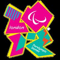 Logo der Paralympics 2012 in London