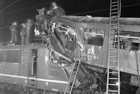 1984 raste ein Transitzug in einen stehenden Pendlerzug. Bild: ZDF Fotograf: BStU