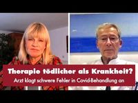 Milena Preradovic und Dr. Claus Köhnlein (2020)