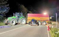 Unfall Flintbek Bild: Dirk Hagenah