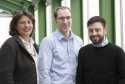 Den Ursachen von Allergien und Asthma auf der Spur: Dr. Gisela Büchele, Dr. Jon Genuneit und Nikolaos Sitaridis (v.l.) vom Ulmer Institut für Epidemiologie