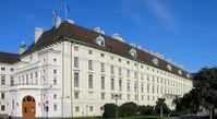 Seit 1947 Amtssitz des Bundespräsidenten: der Leopoldinische Trakt der Hofburg in Wien