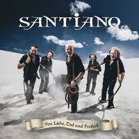 """Cover """"Von Liebe, Tod und Freiheit"""" von Santiano"""